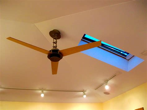 ceiling fan with track lighting prairie style home addition new prairie construction