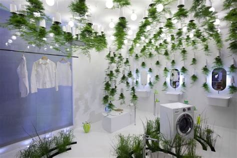 bathroom hanging plants patrick nadeau s green waters bathroom uses hanging plants