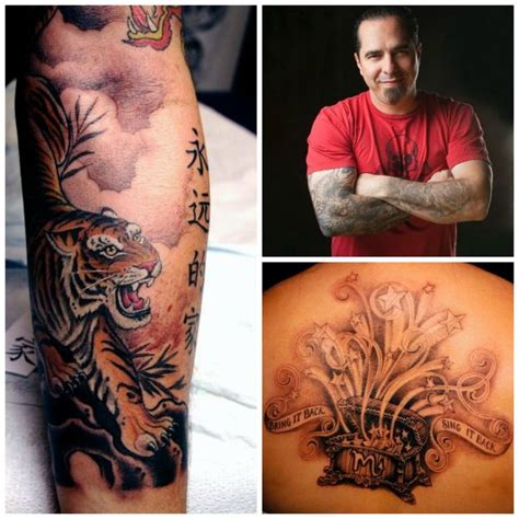 corey miller tattoo corey miller collage tiger box inked