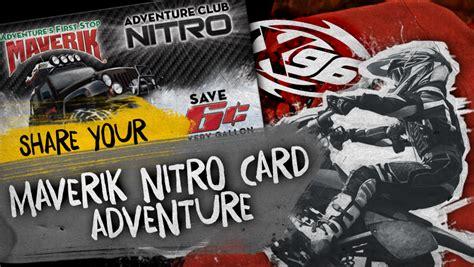 Maverik Gift Card - share your maverik nitro card adventure x96