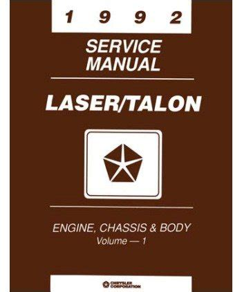 how to download repair manuals 1992 plymouth laser instrument cluster 1992 eagle talon plymouth laser shop service repair manual engine electrical dominiquzxzxomarov