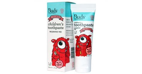 jual murah buds children s toothpaste strawberry 1 3 year 50ml health safety di jakarta