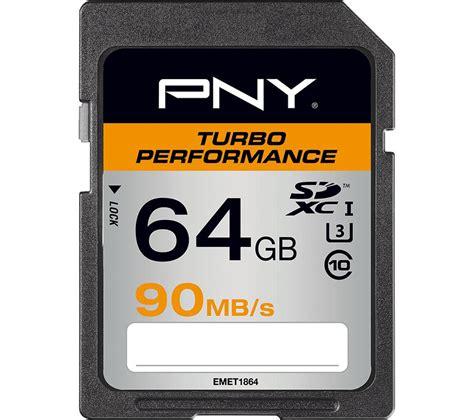 pny 64gb sdxc ebay buy pny turbo performance class 10 sdxc memory card 64
