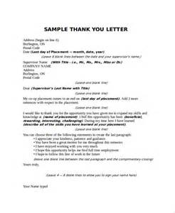 Thank You Letter To Boss Sample Sample Thank You Letter To Boss 16 Free Documents