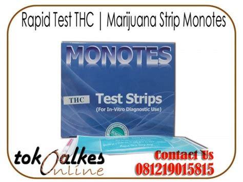 Alat Tes Urine 6p Monotes Rapid Test Thc Marijuana Monotes Toko Alat