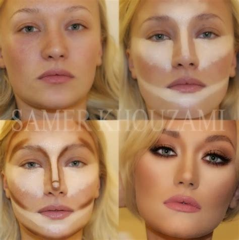Contour Makeup how to contour for your shape oh you crafty gal