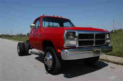 transmission control 1992 dodge d350 free book repair manuals find used 1992 dodge d350 cummins 5 speed 4wd dually truck restoration project in