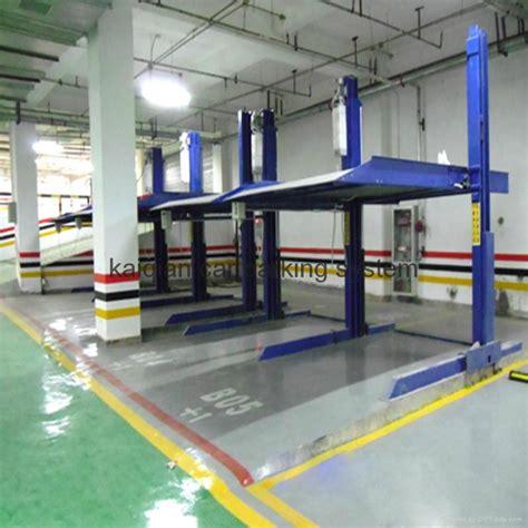 Auto Parkhaus by 2 Post 2 Level Parking Lift China Manufacturer Group1