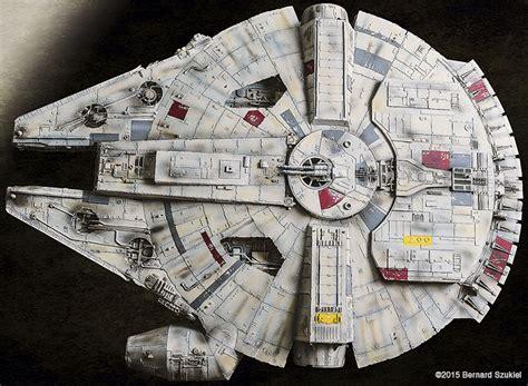 Millennium Falcon Papercraft - this paper millennium falcon has it where it counts nerdist