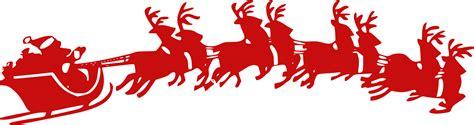 santa and sleigh clipart santa s sleigh