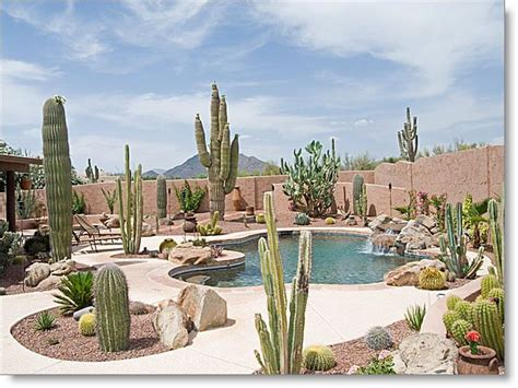 17 best images about arizona backyard landscaping stunning backyard landscaping with pool water fall and
