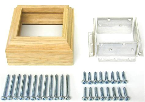 L Post by Professional Stair Fasteners 3 Quot L Bracket Newel Post