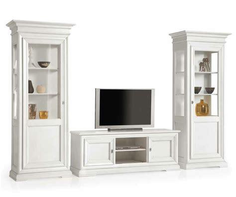 soggiorni bianchi mobili per soggiorno in legno pattinati bianchi