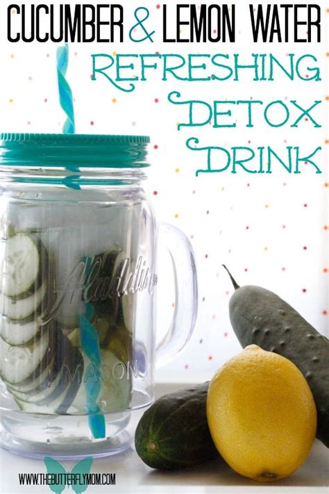 Cucumber And Lemon Detox Water Results by Cucumber Lemon Water Recipe And Starting My Slimfast