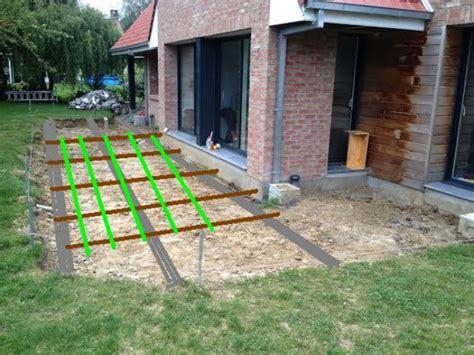 comment poser une terrasse en bois 4357 aide sur structure pour terrasse bois 7 messages