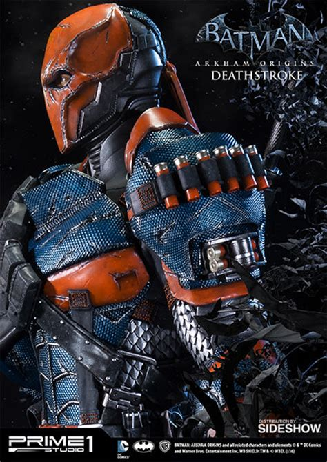 Statue Prime One Deathstroke deathstroke strictly sideshow