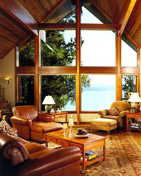 Sunroom Living Room 187 Small Treasures Lindal Cedar Homes