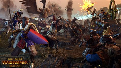 total war warhammer bretonnia cinematic trailer gamersbook