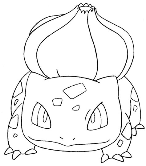 pokemon coloring pages of bulbasaur hattifant pokemon evolution papertoy flextangle