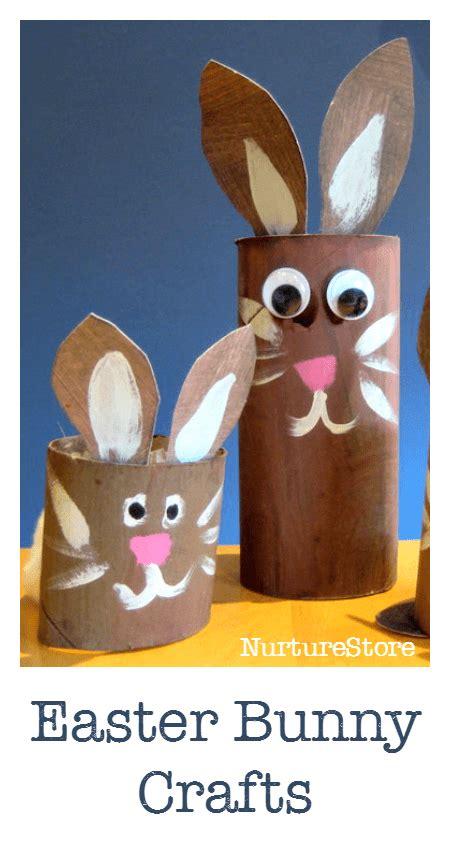 Toilet Paper Easter Bunny Craft - easter bunny craft nurturestore