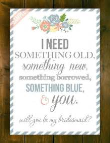 will you be my bridesmaid poems will you be my bridesmaid of by printablesmothership on etsy 5 00 thoughts