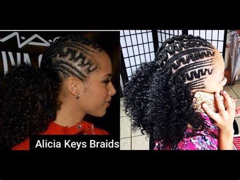 #253. alicia keys inspired braids youtube