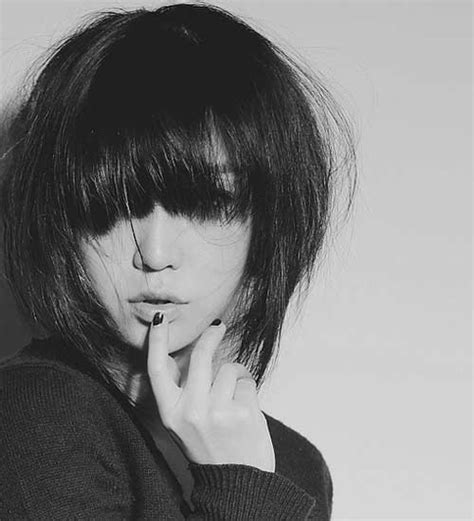 japanese haircuts for thick hair sexy medium short hair cool hairstyles