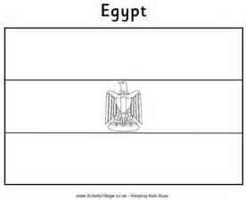 egypt flag colouring