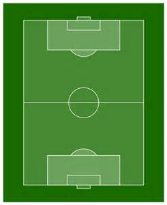 Soccer Pitch Template by Soccer Football Field Templates Soccer Football