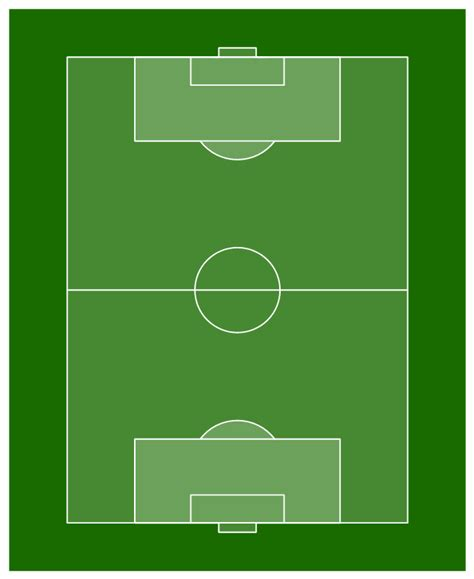 soccer template how to make soccer position diagram using conceptdraw pro