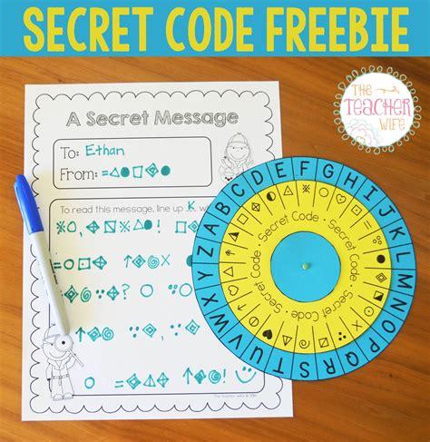 secret activity secret code freebie the secret code