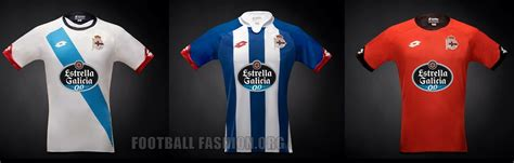 Promo Jersey Deportivo La Coruna Away 2016 2017 Grade Ori deportivo de la coru 241 a 2015 16 lotto home away and third