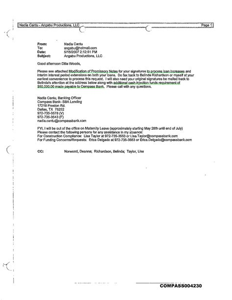 Loan Modification Letter Of Contribution contribution letter mortgage modification pictures