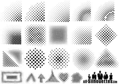 halftone dot pattern vector 9 halftone dots vector images free vector halftone dot
