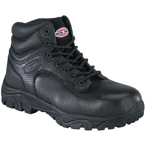s iron age 174 6 quot composite toe work boots black