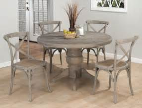 Driftwood Kitchen Table Weathered Driftwood Grey Dining Table X Back Chairs Distressed Wood Reclaimed Wood Jofran 856