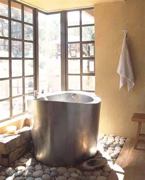 japanese style bathtub modern relaxing japanese soaking bathtubs home design