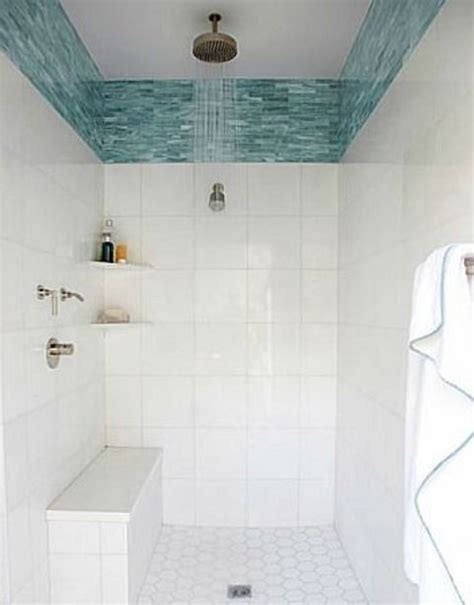 bathroom ideas pebble tile 12 x 12 turquoise 29 ideas to use all 4 bahtroom border tile types digsdigs
