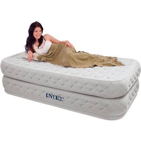 intex supreme intex supreme air flow airbed kit walmart