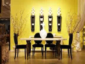 yellow dining room ideas walls modern dining room yellow wall paint ideas modern