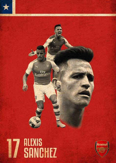 alexis sanchez poster 1000 images about football poster on pinterest world