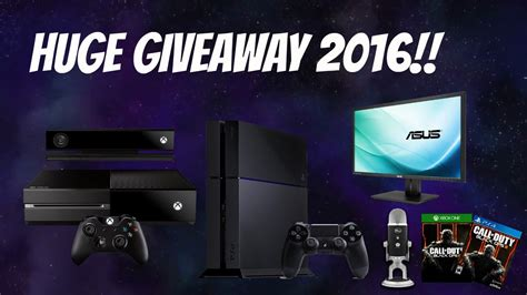 Youtube Giveaways 2016 - awesome gaming setup giveaway 2016 new channel on youtube youtube