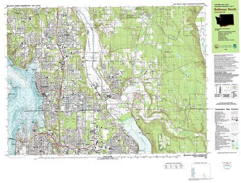 maps redmond redmond topographic map wa usgs topo 47122f1