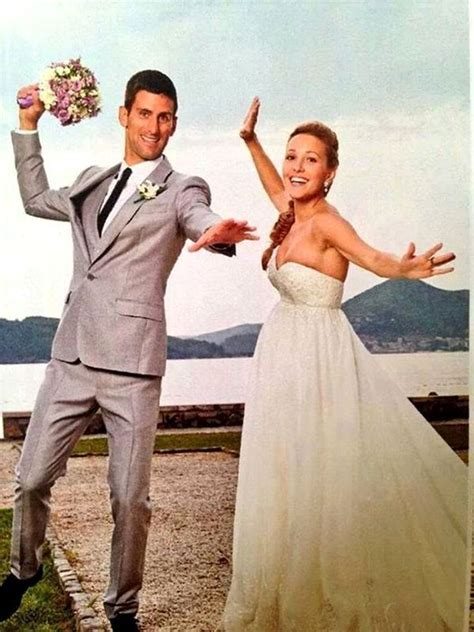 Novak ? Jelena Djokovic  Wedding jul 2014 #djokovic #