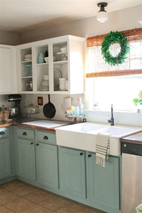 chalk painted kitchen cabinets 2 years later superb best