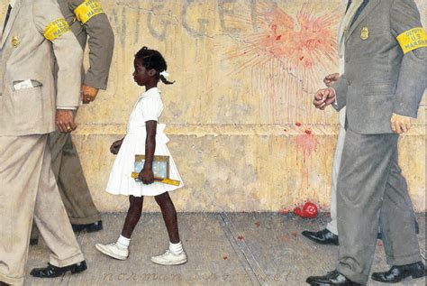 who all lives in the white house norman rockwell s the problem we all live with to be exhibited at the white