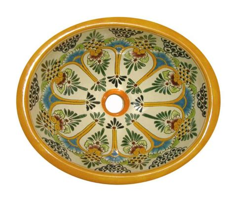 mexican hand painted sinks talavera mexican hand painted products pinterest