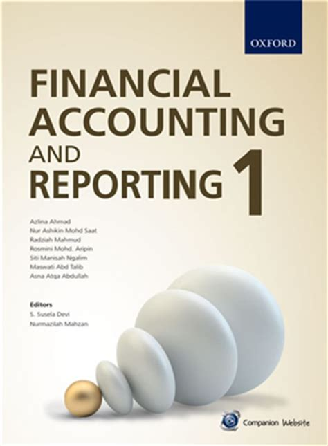 financial reporting book financial accounting and reporting 1 oxford fajar