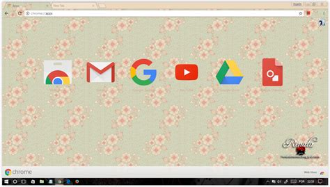 google chrome themes girly google chrome themes