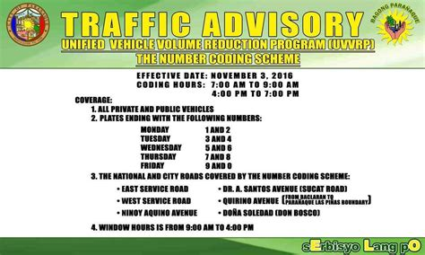 mmda number coding scheme directions routes maps media tweets by official mmda mmda twitter